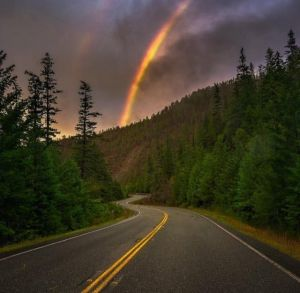 rainbows, humboldt county, humboldt, northern california, landscape photography, norcalpulse.com